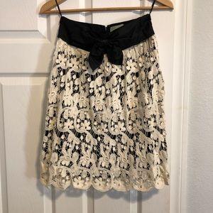 Anthropologie Macrame Skirt